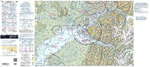 FAA Chart: VFR TAC ANCHORAGE TANC (Current - Map Anchorage Store