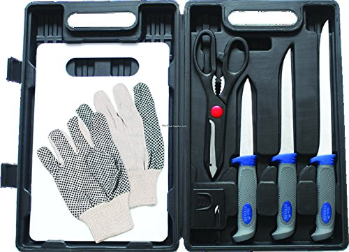 Sea Striker Fillet Kit with Carrying Case (8 Piece)
