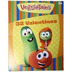 VeggieTales 32 Classroom Valentines Cards