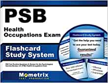 Psb health occupations exam flashcard study system psb for Bureau 13 review