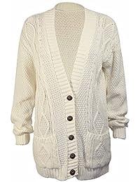 PurpleHanger Women's Knit Sweater Cardigan Top Plus Size