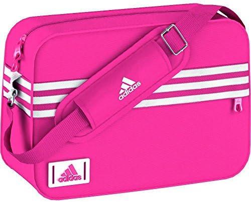 adidas Enamel S - Bandolera Unisex, Color Rosa/Blanco: Amazon.es: Deportes y aire libre