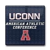 NCAA UConn Huskies Team Strong Logo Coasters Cork Pat Mat