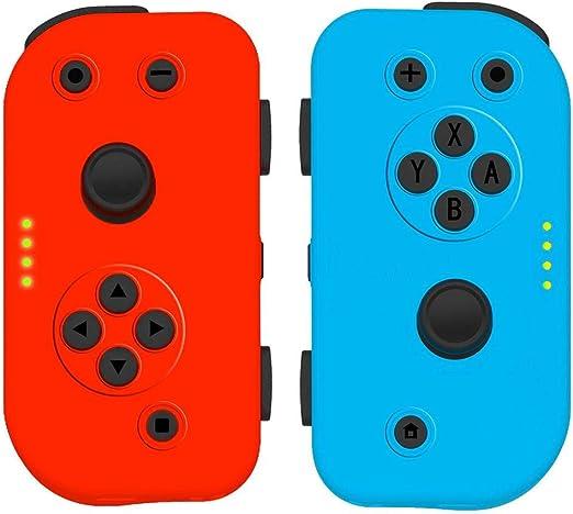 fancyU 2019 - Mando de Videojuegos para Consola NS Switch, Negro ...