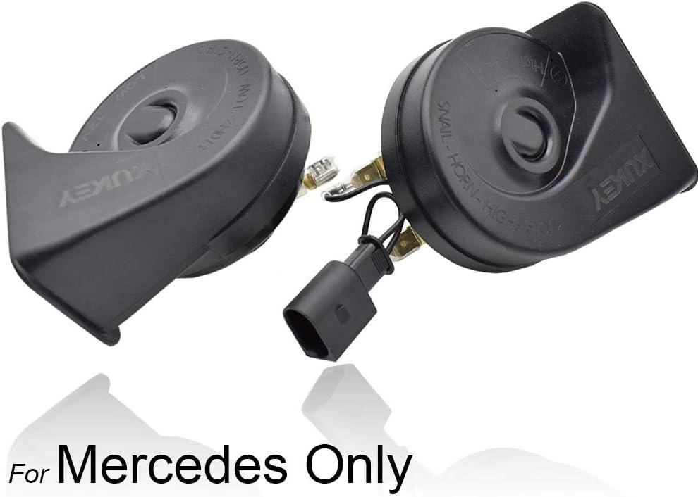 410//510Hz High Low Tone Snail Horn For W246 C207 W221 W212 R172 C117 X166 W218 W166 W176 X253//C253 W205 X156 R231
