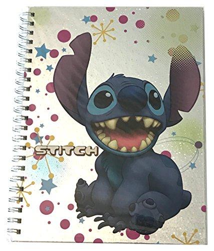 (Disney Parks Stitch Encounter Spiral Bound Notebook Shanghai Disneyland)