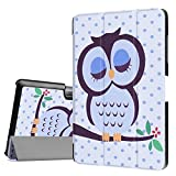 """Acer Iconia One 10 B3-A30 Case Cover,Acer Iconia Tab 10 A3-A40 Back Case,Folding Cover Ultra Slim Premium PU Leather Case for 10.1""""Acer Iconia One 10 B3-A30 Android Tablet,Classic owl"""