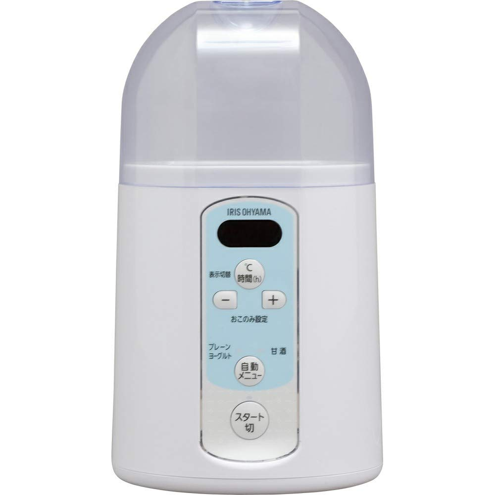 IRIS OHYAMA Yogurt Maker KYM-014 (WHITE)【Japan Domestic Genuine Products】【Ships from Japan】 by IRIS OHYAMA, Inc.