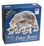 polar bear puzzle - Land of the Polar Bear Shaped 1000 Piece Puzzle