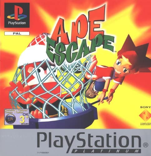 Ape Escape - Platinum (PS)