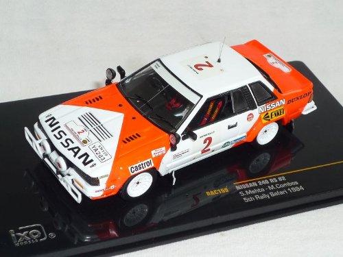 Rally Safari 1984 1//43 Modell Auto Modellauto Ixo Nissan 240 RS Nr 2 Mehta Combes 5