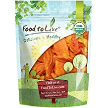 Organic Dried Papaya Spears — Non-GMO, Kosher, Unsulfured, Unsweetened, Bulk (by Food to Live) 2 Pounds