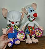 Animaniacs Pinky and the Brain 11 Inch Plush Set