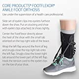 Core Products FootFlexor AFO Foot Drop Brace, Large - XLarge