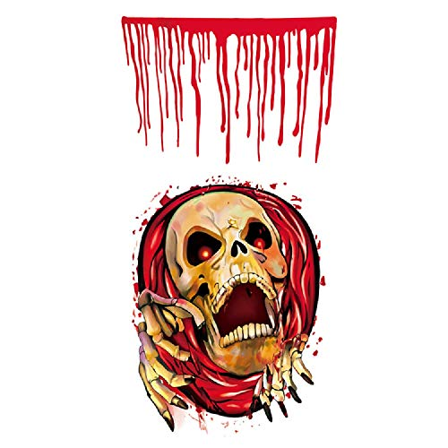 Zombie Toilet Seat - Richboom Halloween Toilet Seat Cover Sticker,