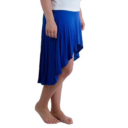 e1f2ec980d9b2 Amazon.com  Yahada Women s Hi Low Skirt Royal  Clothing
