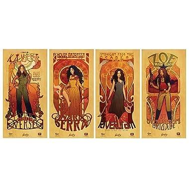 Quantum Mechanix Firefly set posters Les Femmes 30 x 60 cm (4)