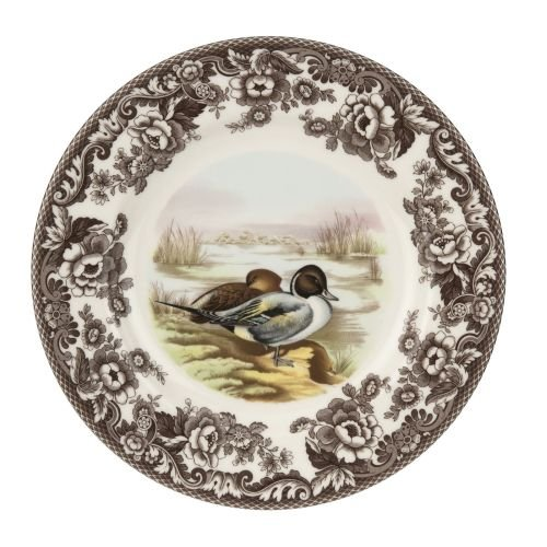 Spode Woodland & Delamere Dinner Plate (Pintail)