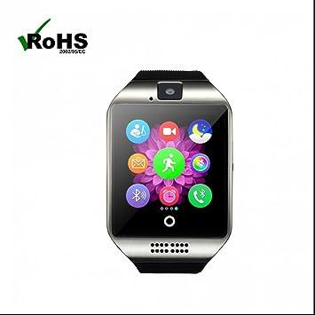 Reloj Inteligente Bluetooth Relojes Deportivo Smartwatch Seguimiento de calorías resistente a los golpes Actividad Tracker Soporta