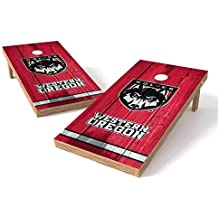PROLINE NCAA College 2' x 4' Cornhole Board Set with Bluetooth Speakers - Vintage Design