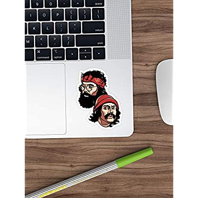 Andrews Mall Cheech and Chong Stickers (3 Pcs/Pack): Kitchen & Dining