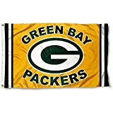 Green Bay Packers Logo Flag and Banner