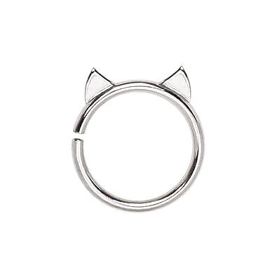 Amazon Com Pierced Owl Cat Ears Annealed Bendable Cartilage Daith