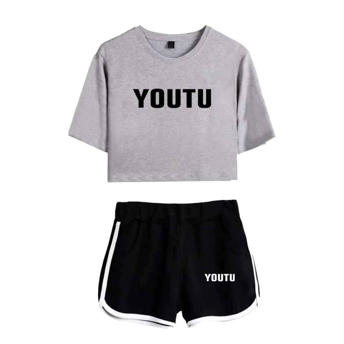 b4dd873e2e17b CTOOO T-Shirts Shorts Shawn Mendes Vêtements Commémoratifs Femme Ado Casual  Ete XS-XXL Vêtements