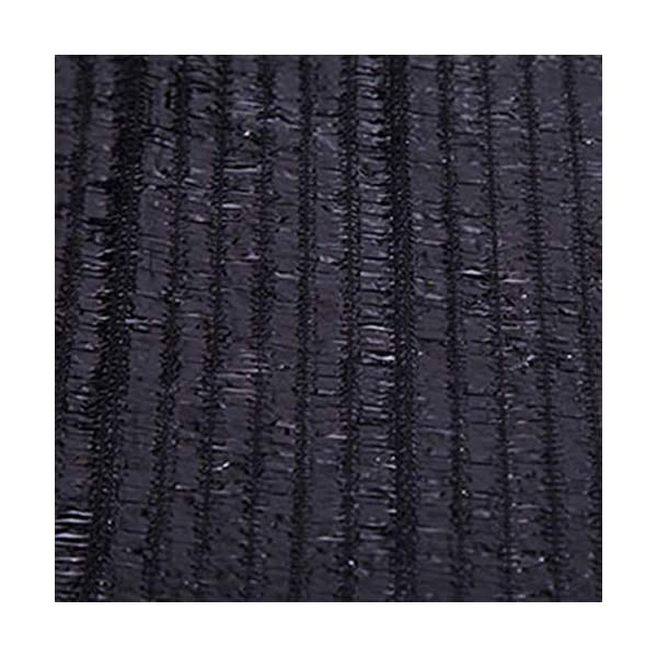 Giow - Telo protettivo per protezione solare in polietilene nero, 1 metro, 1 asola antipolvere, 21 misure (colore: nero… 7 spesavip