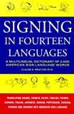 Signing in Fourteen Languages, Claude O. Proctor, 1579120997
