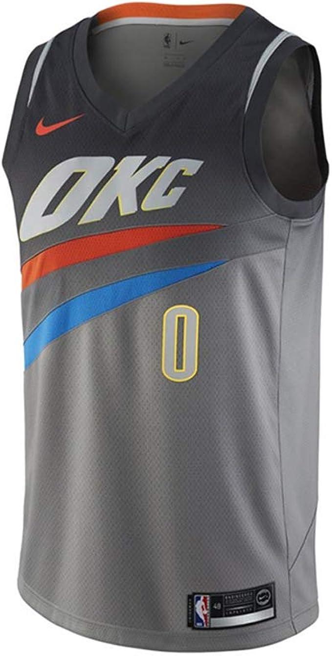 Chaleco de Camisetas de Baloncesto de la NBA Oklahoma City Thunder ...