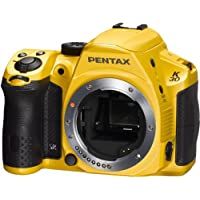 Pentax K30 Digital Camera with 18-135mm Lens Kit (Silky Yellow) [Electronics]