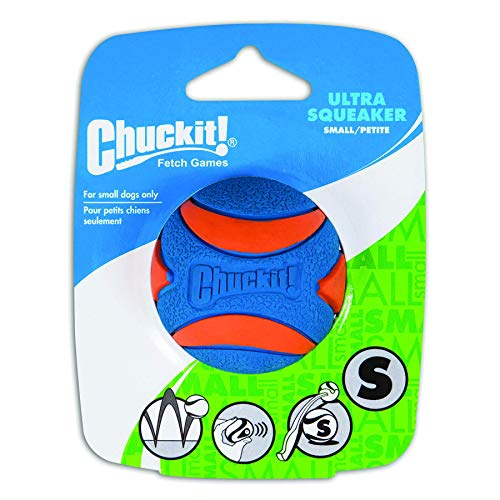 (Chuckit! Ultra Squeaker Ball Small (1 Pack))