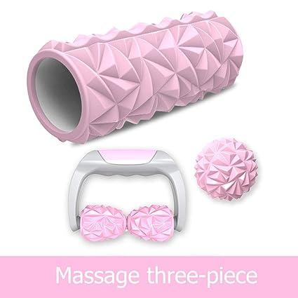 DUHUI massage Patrón de diamante de mano masajeador de estufa masajeador rodillo relajación muscular masajista barra