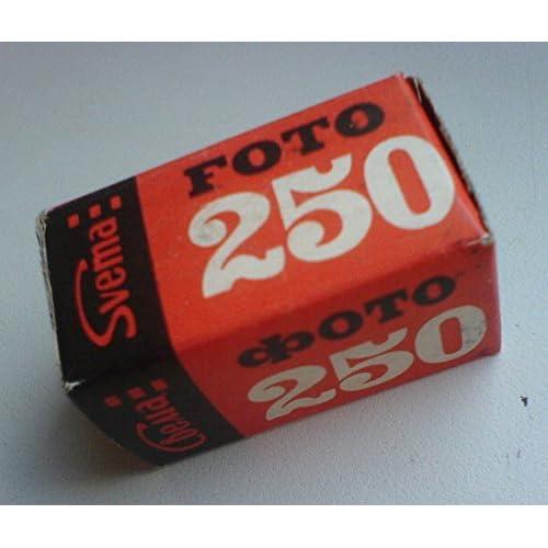 SVEMA 250 USSR Soviet Union Russian B&W 35mm Negative Camera film