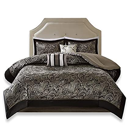 Amazon Com Comfort Spaces King Size Comforter Set 5 Piece