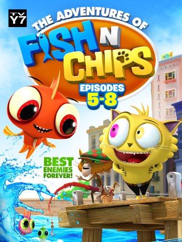 Fish N Chips Cartoon Characters : Amazon fish n chips episodes martin villafana