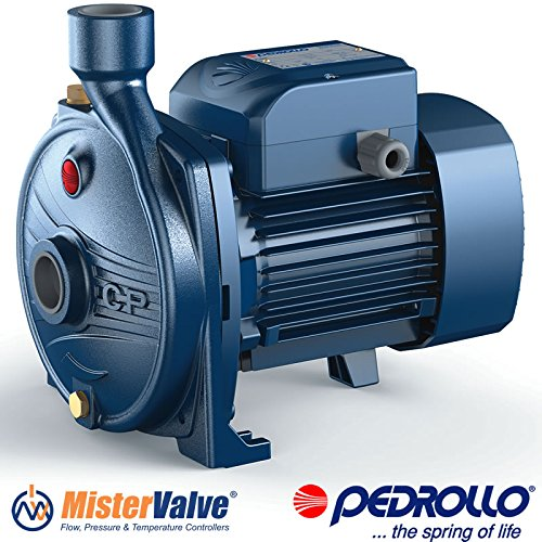 Pedrollo Electric Water Pump CP 0.25-2.2 kW centrifugal pump - CPm 670 - 3 HP 220 V 60Hz irrigation pumps, cooling, air conditioning, water s. systems, liquids transfer, pressure (0.25 Hp Water)