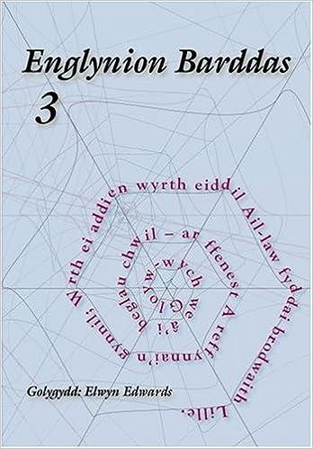 Cyfres Llyfrynnau Barddas: Englynion Barddas - 3