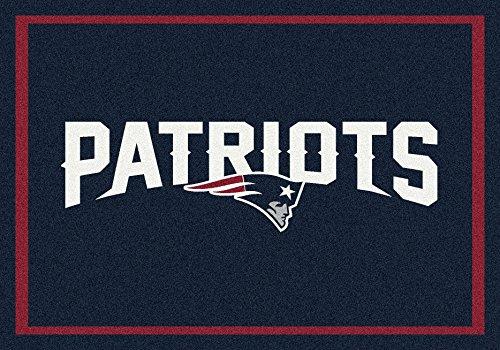 New England Patriots NFL Team Spirit Area Rug by Milliken, 3'10