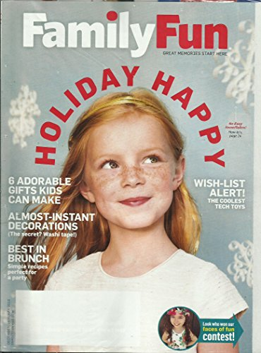Family Fun December/January 2016 Holiday - Holidays Fun January