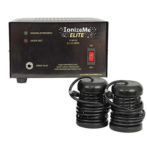HealthandMed Foot Bath Spa Machine, Ionize Me Elite Ionic Detox, 17.0V/2.2 Amp