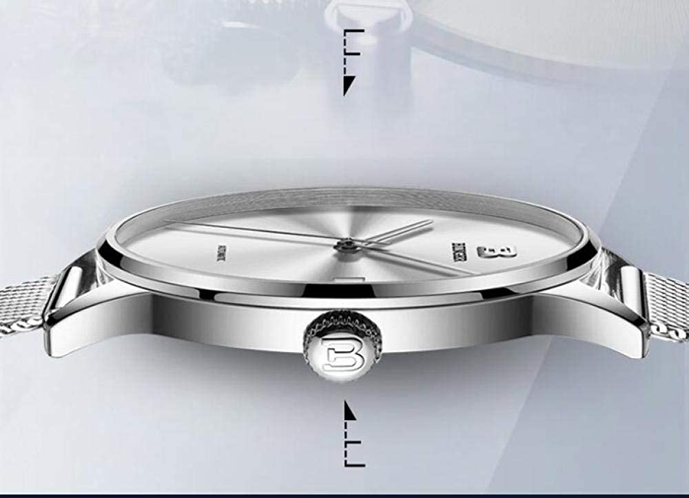 Montres Mode Homme Tendance Marque Automatique Machines Montres-Bracelets Acier Calendrier Lumineux Lumineux Montre Imperméable À l'eau Item 3
