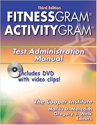 fitnessgram score sheet