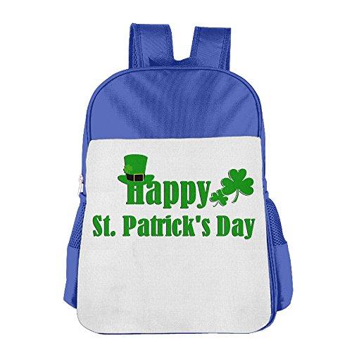 GABRIELA ROSALES Happy St.Patrick's Day Elegant Holiday Unisex Bag Children's Backpack Bag School Sport Bags Shoulder Backpacks Kids' Schoolbag Bags - Center Vegas Las Shopping