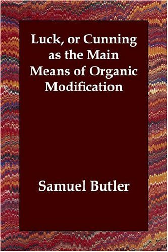 Luck, or Cunning as the Main Means of Organic Modification pdf