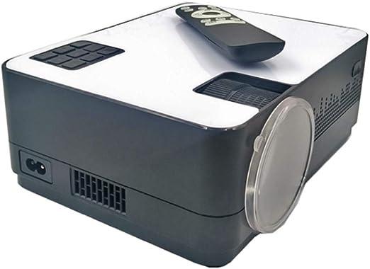 Proyector De Vídeo, LED Proyectores De Apoyo Portátil Mini Cine En ...