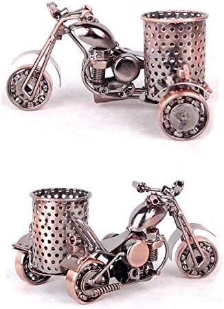 negro Smono Portal/ápices de hierro forjado Modelo de motocicleta Oficina en el hogar Caf/é Decoraci/ón Artesan/ías de metal