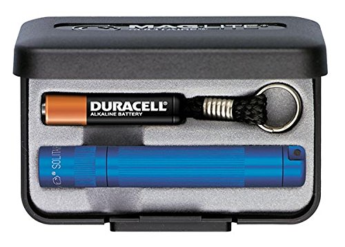 Mag-Lite Solitaire Flashlight AAA in Presentation Box (Blue)