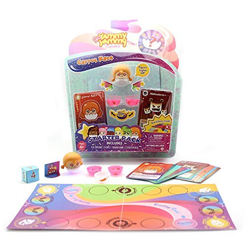 Go Yammy Yammy Cupcakes Board Game Starter Pack Carrot Kate Cool Plush Toy